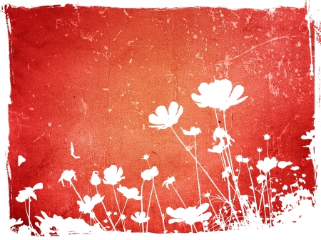floral style textures Stock Photo