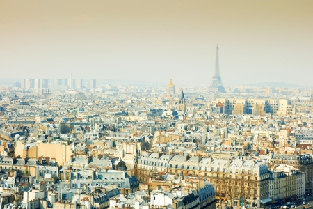 old-fashioned paris france -  with space for text or image photo