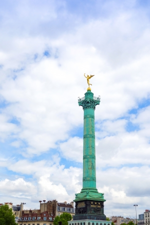 Place de la Bastille in Paris, France