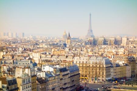 antieke stad bekijken in Parijs Europa