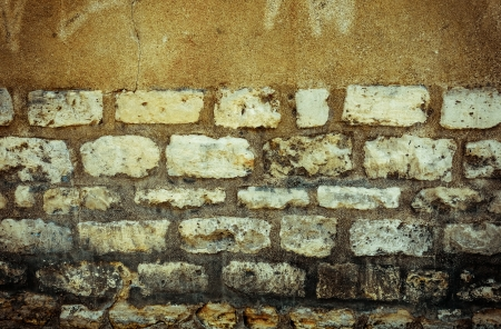 Brown grungy wall - Sandstone surface background Stock Photo - 22236634