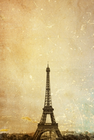 parisian scene: The Eiffel Tower (nickname La dame de fer, the iron lady),The tower has become the most prominent symbol of both Paris and France