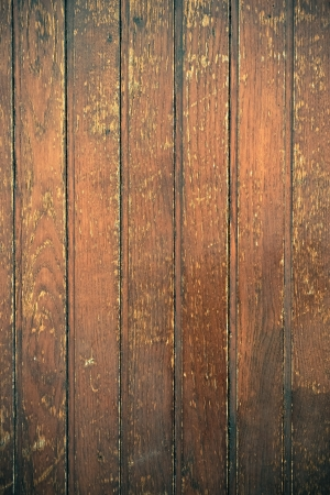 Vintage stained wooden wall background texture photo