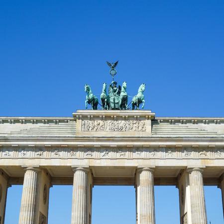 brandenburger tor: Brandenburg Gate (Brandenburger Tor), famous landmark in Berlin, Germany