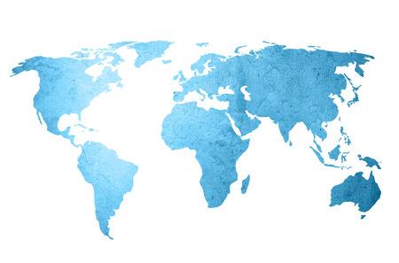 mapa mundi: Vintage mapa del mundo ilustraciones - fondo perfecto con espacio para texto o imagen