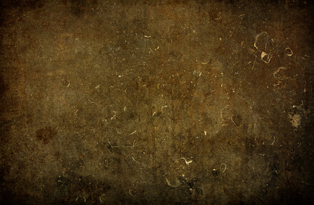 gritty: Brown grungy wall - Great textures for your Stock Photo