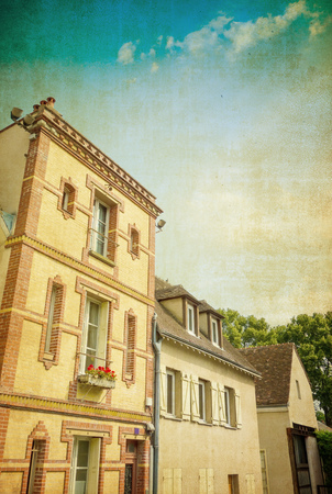 oldfashioned: old-fashioned building in Europe