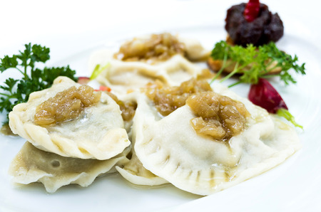 polish: Polish dumplings - pierogi, polish food