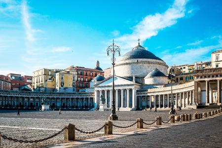 francesco: San Francesco di Paola, Plebiscito Square in Naples, Italy