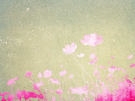 floral style textures with space for text or image Stock Photo