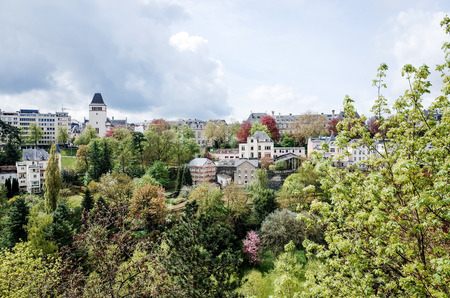 luxembourg: Traditional architecture buildings in Luxembourg