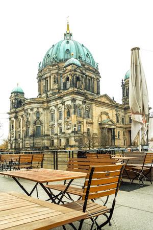 dom: Berlin Cathedral Church. German Berliner Dom