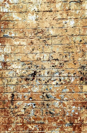 wall textures: Old red brick wall textures and backgrounds.