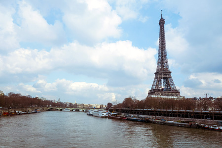 the iron lady: The Eiffel Tower (nickname La dame de fer, the iron lady),The tower has become the most prominent symbol of both Paris and France