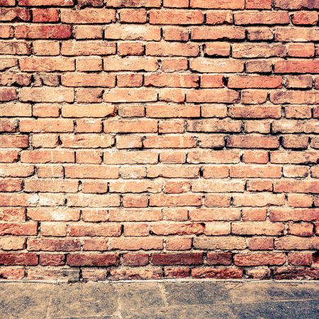 wall textures: Old red brick wall textures and backgrounds? Stock Photo