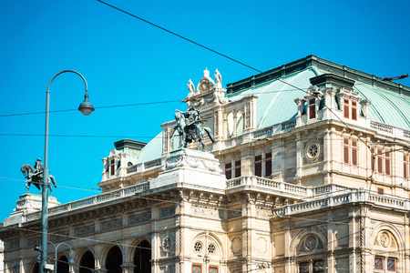 viennese: Viennese Classical style building, Austria, Europe Stock Photo