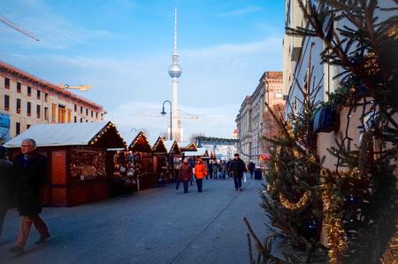 tv tower: BERLIN, GERMANY- 4 December: Tv tower or Fersehturm in Berlin on 4 December, 2014. BERLIN, Germany. Editorial