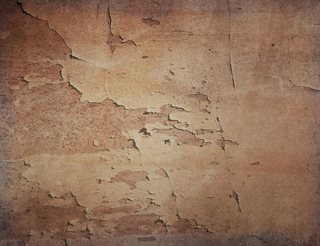 creaky: Brown grungy wall - textures for your design