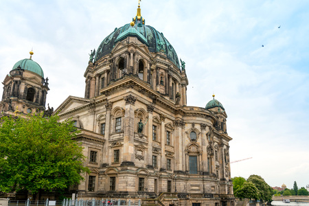 dom: Traditional view of Berliner Dom in Berlin