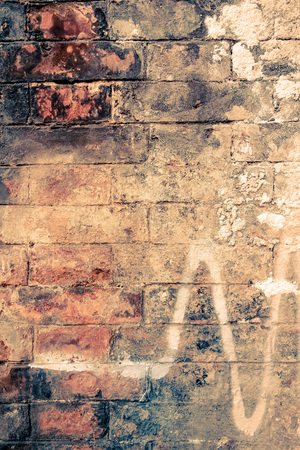 solid background: Old red brick wall textures and backgrounds