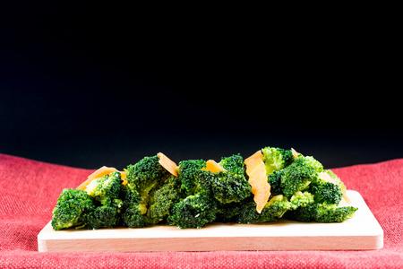Handmade cauliflower vegetables on table Stock Photo