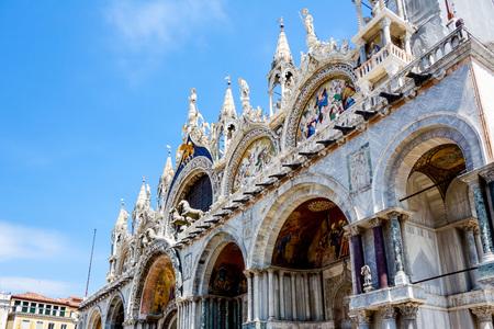 venice: Saint Marks Basilica in Venice, ITALY