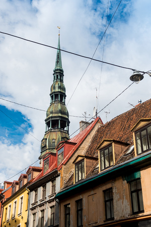 Traditional Cathedral building in Riga, Latvia