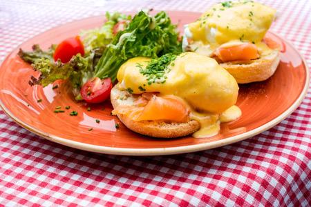 delicious Breakfast Benny Dick Egg Stock fotó