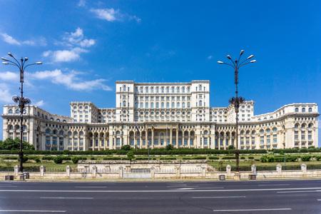 부카레스트, 루마니아 의회 궁전 스톡 콘텐츠 - 87902413