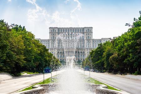부카레스트, 루마니아 의회 궁전 스톡 콘텐츠 - 88478113