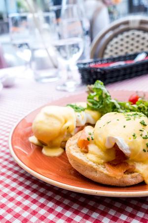delicious Breakfast. Benedict Egg