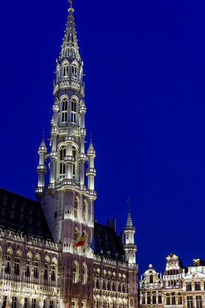 Royal Palace of Brussels - landmark of Brussels