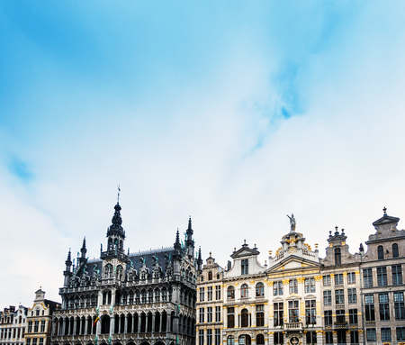 Grand Place at Brussels, Belgium