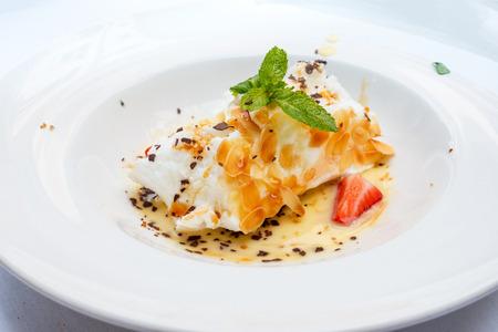 Handmade Floating island , French dessert