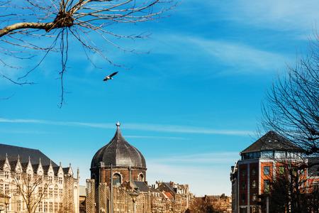 St. Andrews Church in Liege city, Belgium