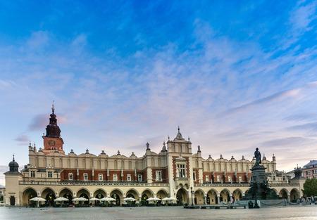 KRAKOW, POLAND - August 27, 2017: The Cloth Hall Krakow,listed as a UNESCO World Heritage Site since 1978, Poland Sajtókép