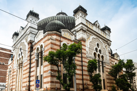 Sofia Synagogue is the largest synagogue in Southeastern Europe