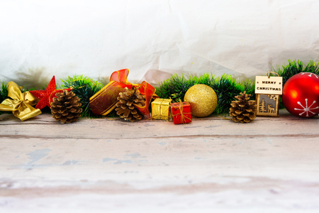 Christmas ornament isolated on white background