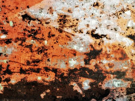 Old rusty texture to use as background for your original design Imagens