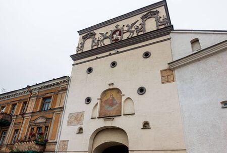 VILNIUS, LITHUANIA - September 2, 2017: Catholic church of All Saints in Vilnius, Lithuanian