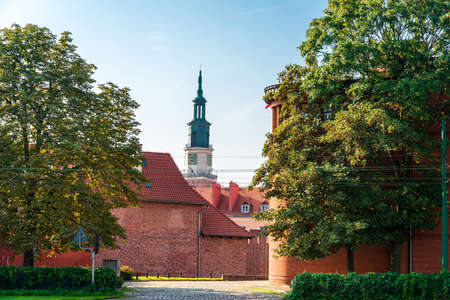 Traditional Cathedral building in Poznan, Poland