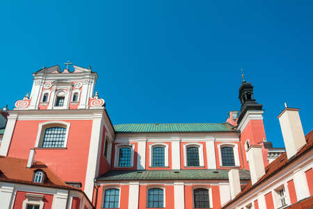 Street view of Old Town, Poznan, Poland