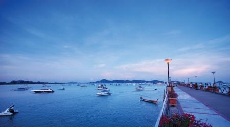 chalong: Chalong Bay at Phuket Thailand