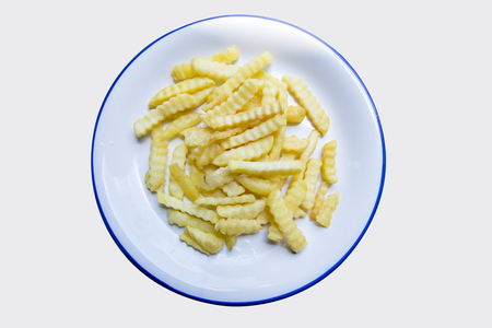 French fries (chips) Stock Photo