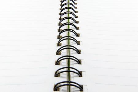 foglio a righe: Carta a righe con linee a spirale vincolati notebook