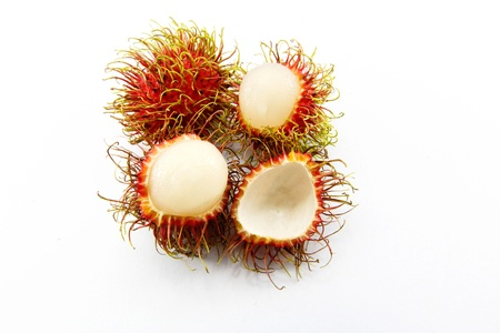 Rambutan fruit of thailand photo