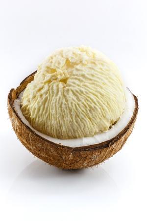 Broto de coco fresco