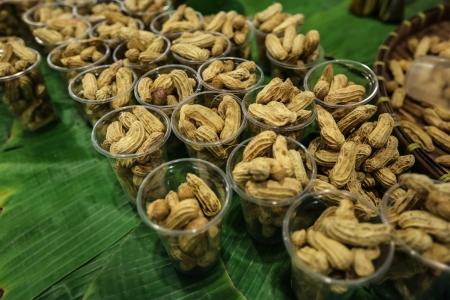 peanuts isolado no fundo branco