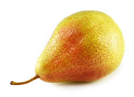 Fresh pear isolated on white background Banco de Imagens