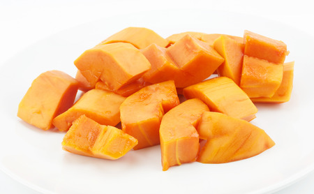 cutaneous: Sweet papaya fruit